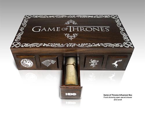 HBO Game Of Thrones Influencer Gift Box PGD BLOG